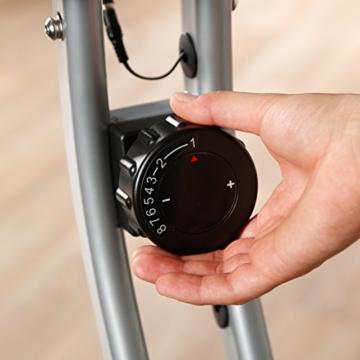 Ultrasport Heimtrainer F-Bike mit Handpuls-Sensoren, klappbar - 4