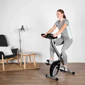 Ultrasport Heimtrainer F-Bike mit Handpuls-Sensoren, klappbar - 7